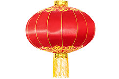 Lanterne Chinoise Ø43cm - Classique, Satin