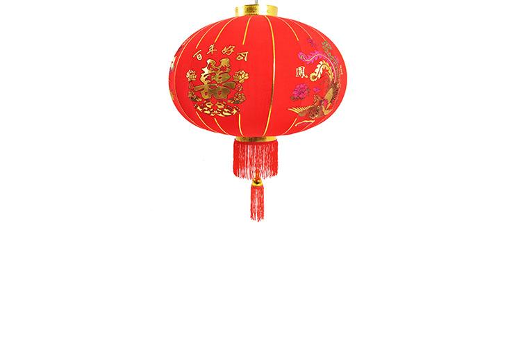 Chinese Lantern Ø43cm - Dragon & Phoenix