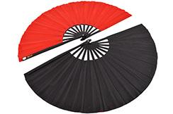 Double Tai Chi Fan (Tai Ji Shan), Large Size, Two Sided