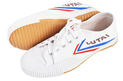 Chaussures Wushu Lutai, Blanches