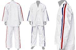 Kimono de Karate Contact, Rayas tricolores