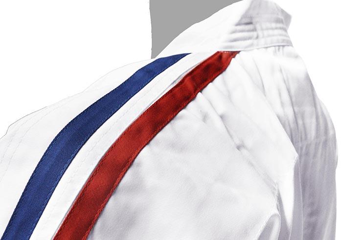 Kimono Karaté Contact, Bandes Tricolores