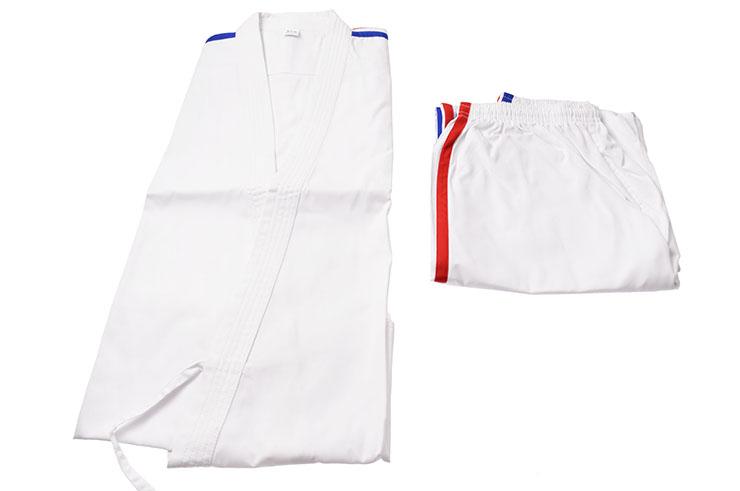 [Destock] Karate Kimono blue white red stripes 1.70m-1.75m