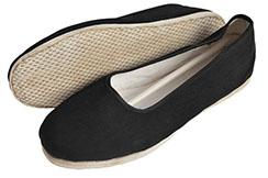 [Destock] Tai Ji Cloth Shoes, Rope Sole