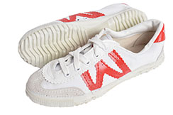 Chaussures Warrior Blanc/rouge