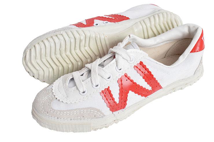 Chaussures Warrior Blanc/rouge