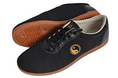 [Destock] Chaussures Taiji Toile, WPT, Noires