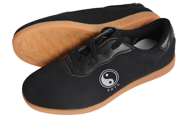 [Destock] Cloth Taiji Shoes, SRYD, Black - T39