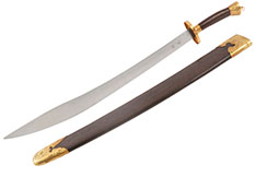 [Destock] Stainless Steel Traditional Broadsword - Rigid, High Range