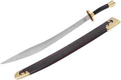 [Destock] Stainless Steel Traditional Broadsword - Rigid, High Range