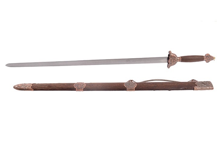 [Destock] Tai Chi Straightsword «Longquan» - Semi Flexible