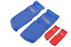 Calcetines de Sanda reforzados, recubiertos de PU