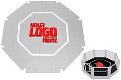 Bâche PVC personnalisable - Cage MMA