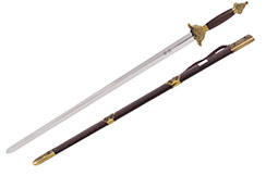 Tai Ji, Tai Chi «Fu Lu» Straightsword, Diamond Cross Section, Semi Flexible