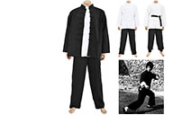 Traditional Bruce Lee Uniform JinWuMen - Thick Cotton