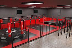 Fight Zone - Salle Complète sur mesure, NineStars
