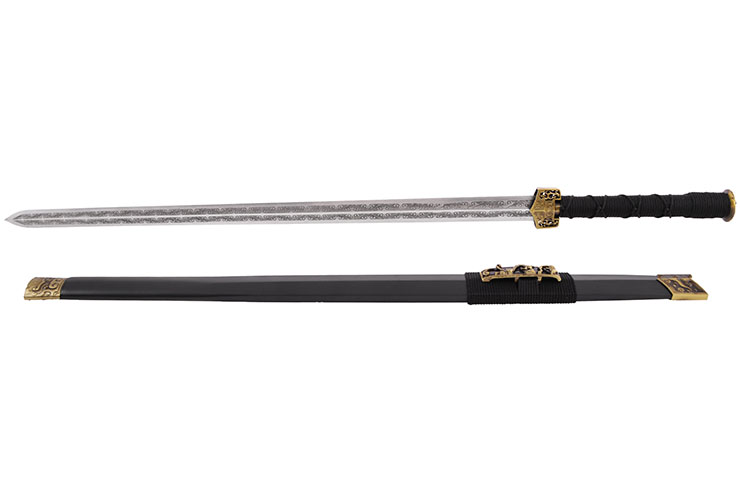 Han sword DingWen, Rigid