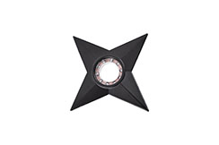 Ninja shuriken Throwing Star - Cosplay, with bearing
