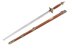 Taiji Sword (Upper Range), YangShi ShuangLong - Semi flexible