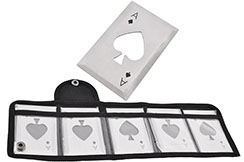 Steel Throwing Cards, Ace of Spades