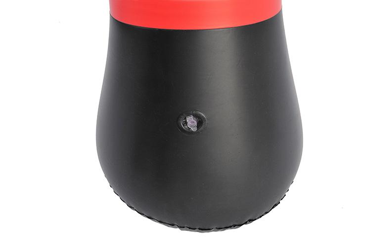 Saco de boxeo inflable, Rojo