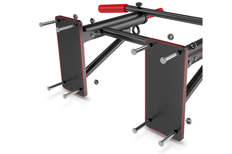 Barra de pared para flexiones, Plegable - NineStars