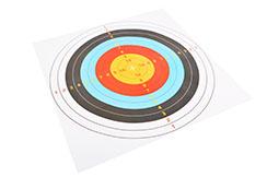 Paper targets - 10pc lot