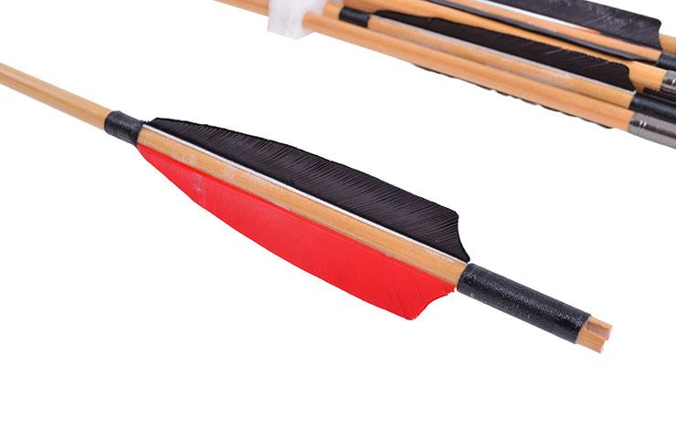 Archery arrows - 12pc lot