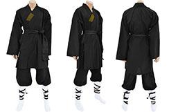 Traje de Shaolin, Algodón Negro