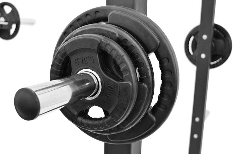 Poids Olympique pour barre de Musculation, NineStars