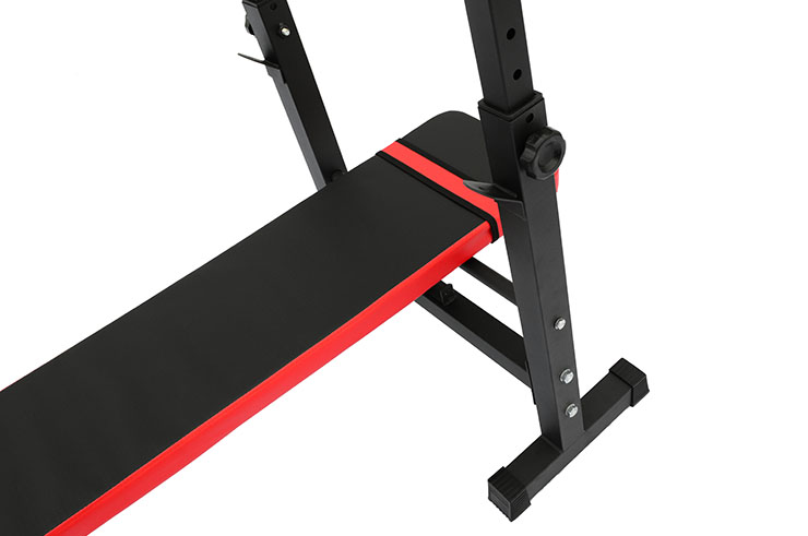 Weight & Press Bench, with Barbell weight Rack