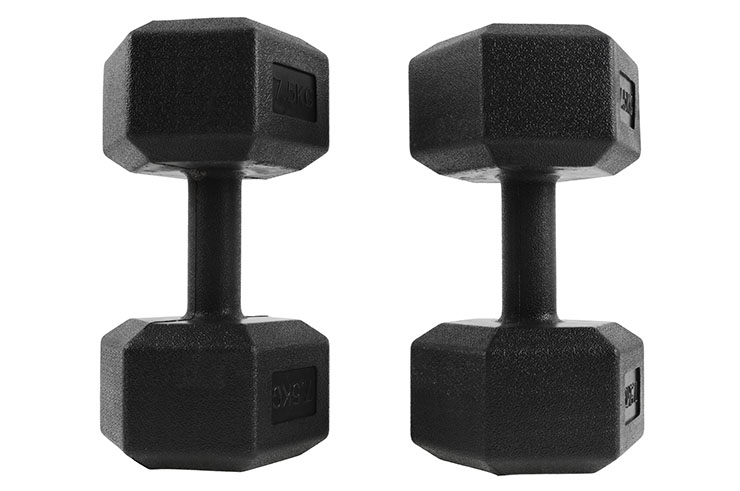 Haltère Hexagonale de 2,5 à 10 kg