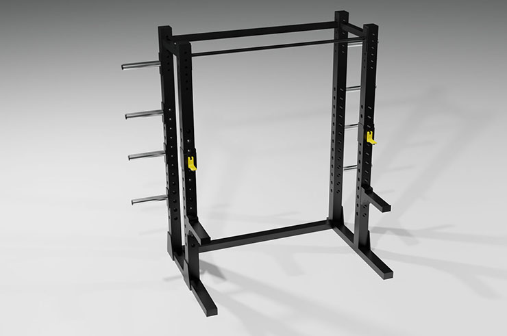 Power Rack semi-PRO, Cage à Squat - High Range