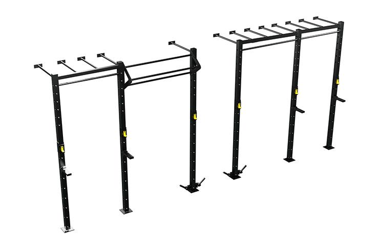 Wallmounted Monkey Bars, Pull Up & Lift Offs Rig