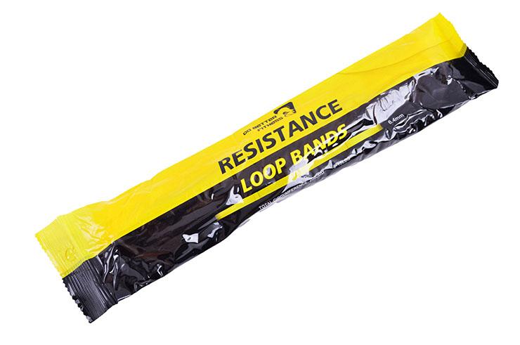 Bande de résistance - Elastique Yoga & Fitness, Silicone