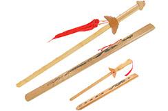 Espada De Madera, Funda Dragon - Modelo pequeño