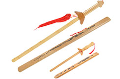 Wooden Straightsword, Dragon Scabbard - Small model