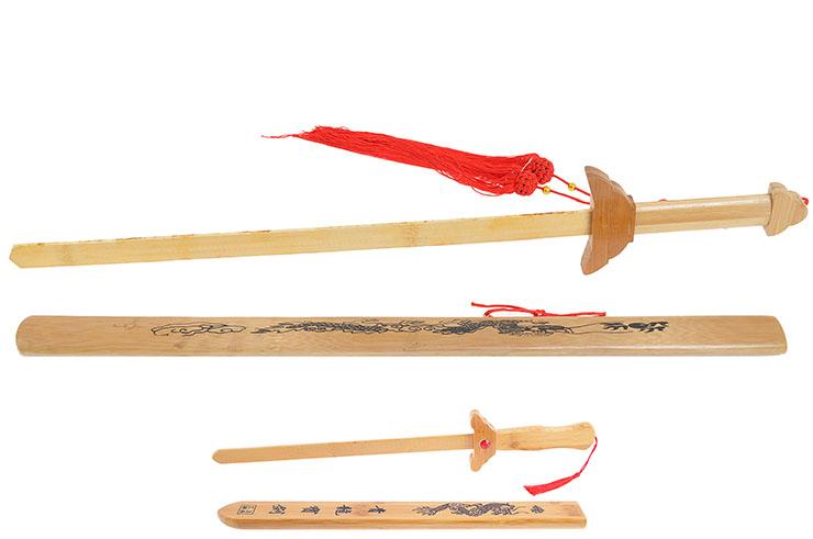 Épée Bois Fourreau, Dragon, Enfant
