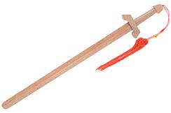 Épée en Bois Clair - 90cm