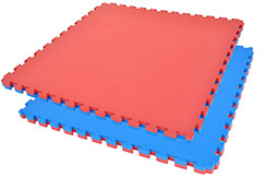 Puzzle Mat, 4cm, Blue/Red (model 2016)