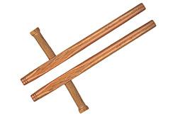 Tonfa Okinawa Wood - Rectagular 50cm, Kwon