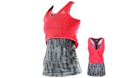 Débardeur Femme - Training ''adiSWSST02'', Adidas