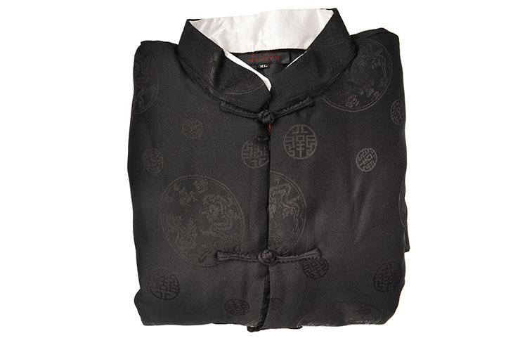 [Déstock] Top tradicional «Tangzhuang» Con Solapa, forrado, de algodón 170cm
