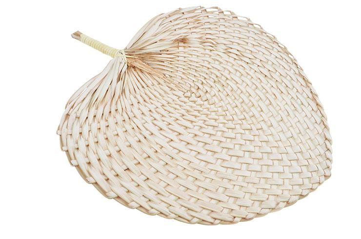 BaJiao Hand-Woven Traditional Fan