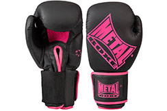 Guantes competición, Pink Lady - MB221F, Metal Boxe