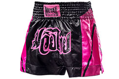 Short Boxeo Thai Mujer, Metal Boxe TC62P