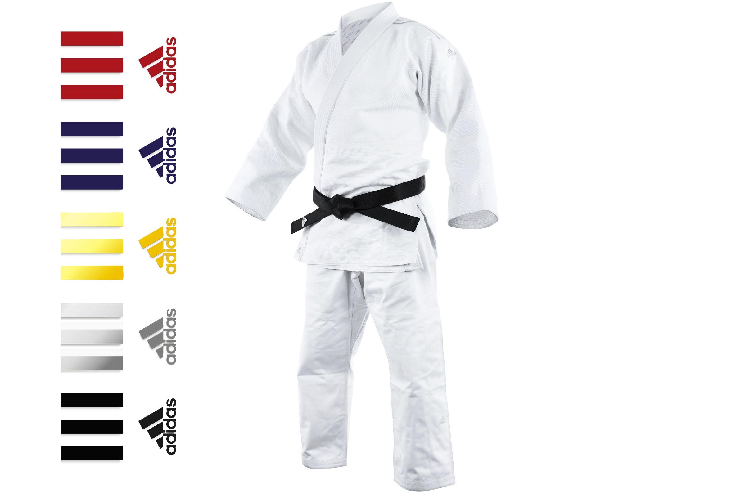 Kimono de Judo, Millenium Bandes J990_ST_P, Adidas DragonSports.eu