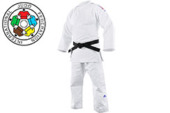 Judo Kimono, Millenium Tricolor - J990BBR, Adidas