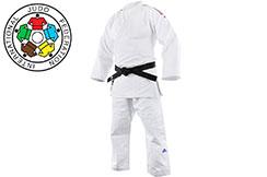 Kimono de Judo Competition, Tricolore - J-IJF-BBR, Adidas