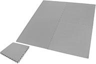 Tapis de sol Puzzle, Gym à domicile - Gris (120 x 120 cm)